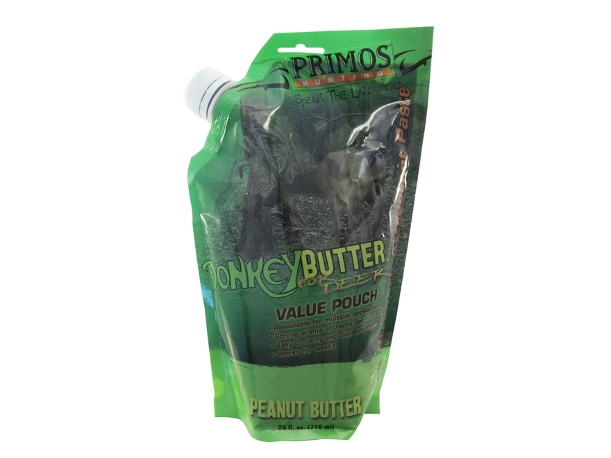 Primos Donkey Butter Peanut Butter Deer Attractant 24 oz