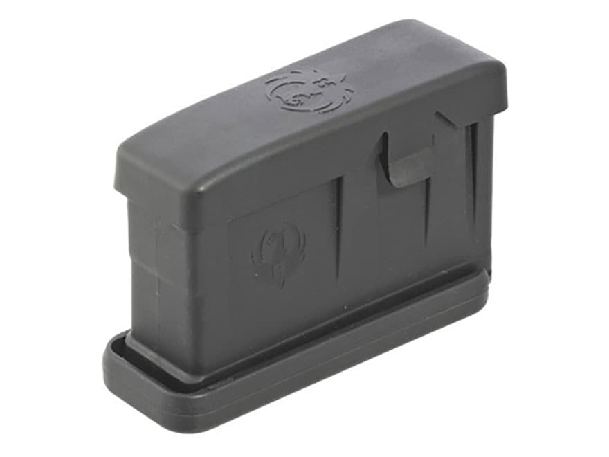 Ruger Magazine Ruger Gunsite Scout AICS Short Action 308 Winchester 3-Round Polymer Black