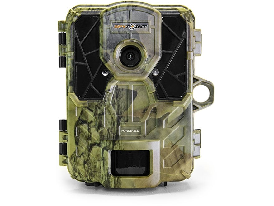 Spypoint Force 11D HD Infrared Digital Game Camera 11 Megapixel with Color Viewing Scre...