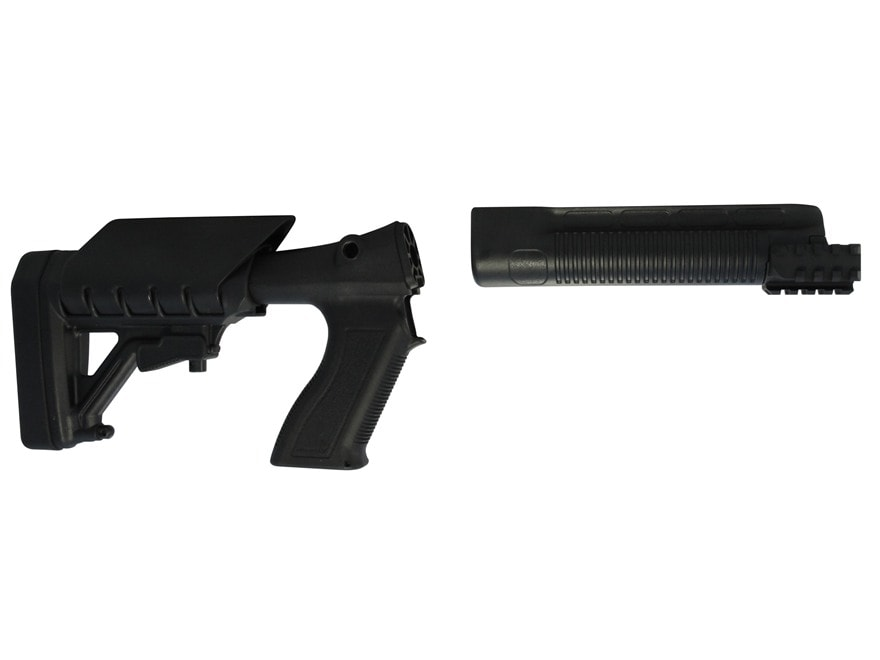 Archangel 500 Tactical Shotgun Stock System Mossberg 500,590 - Black Polymer