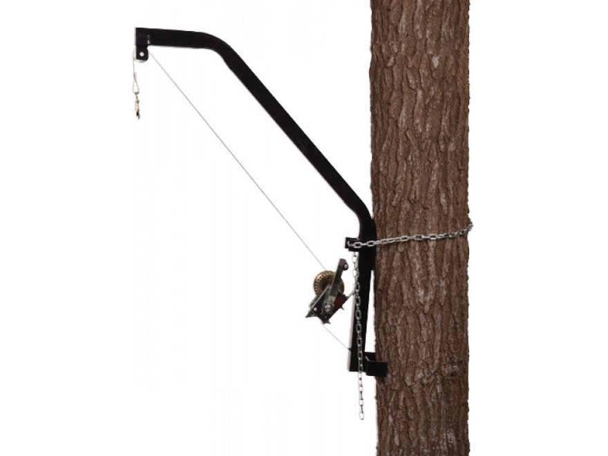 Moultrie Hanging Game Feeder Hoist Black