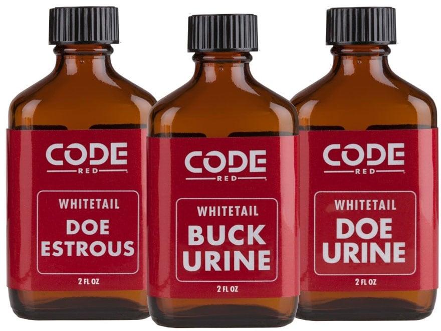 Code Red Triple Buck-N-Does Combo Deer Scent Liquid