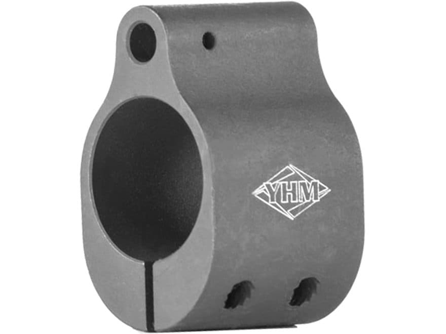 "Yankee Hill Machine Gas Block Low Profile Clamp-On AR-15, LR-308 Standard Barrel 0.750""..."