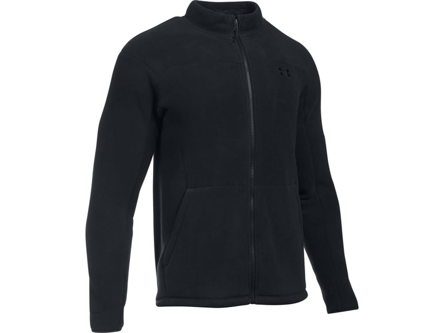 Under Armour Men's UA Tac Super Fleece Jacket Polyester Black Large- Blemished