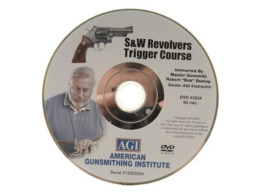 "American Gunsmithing Institute (AGI) Trigger Job Video ""The Smith & Wesson Revolver"" DVD"