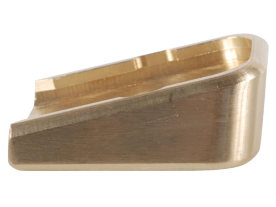 Taylor Freelance Extended Magazine Base Pad Glock 20, 21, 21SF, 29 +0 Brass