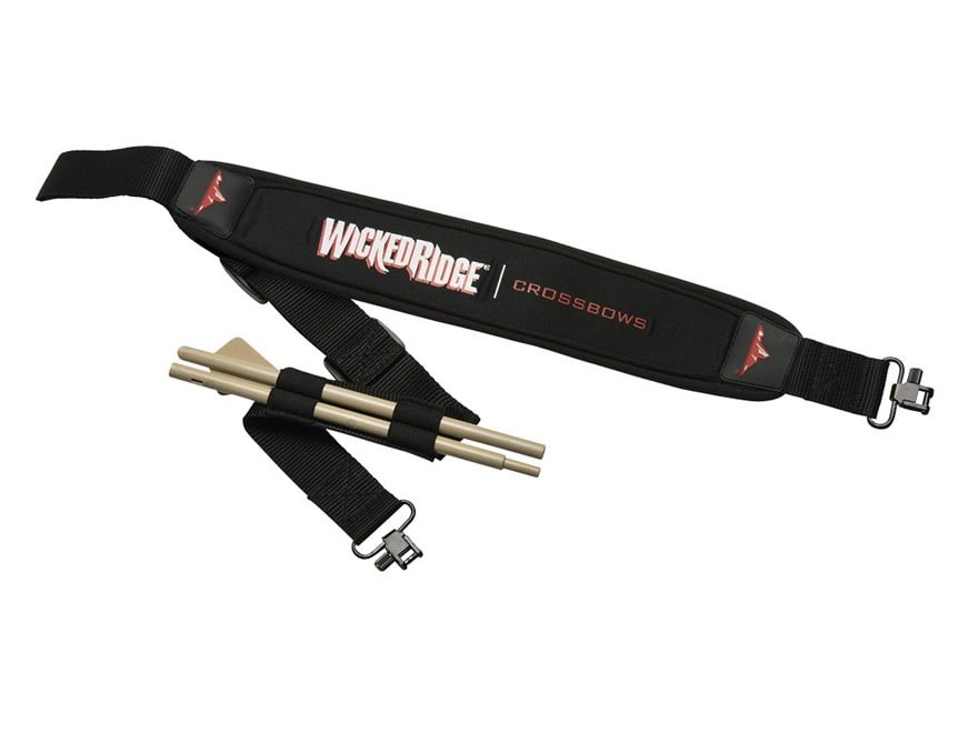 Wicked Ridge Neoprene Crossbow Sling with CUB Unloading Bolt
