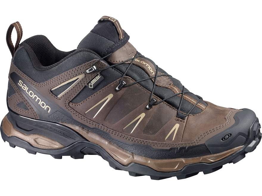 """Salomon X Ultra LTR GTX 4"""" Waterproof GORE-TEX Hiking Shoes Synthetic and Leather Absol..."""