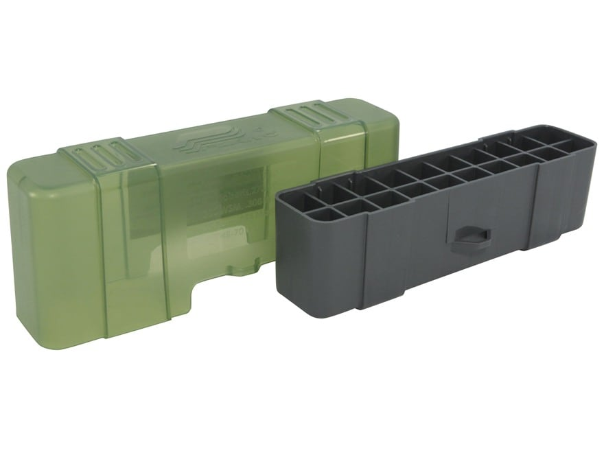 Plano Ammo Box 220 Swift, 243 Winchester, 308 Winchester 20-Round Plastic Olive Drab an...