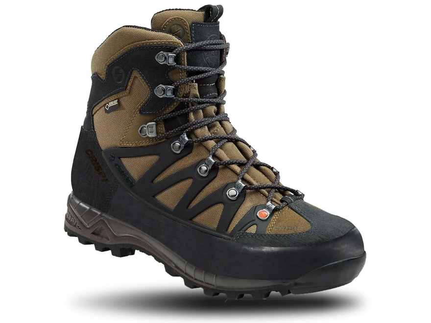 """Crispi Wyoming GTX 8"""" Waterproof GORE-TEX Hunting Boots Leather Men's"""