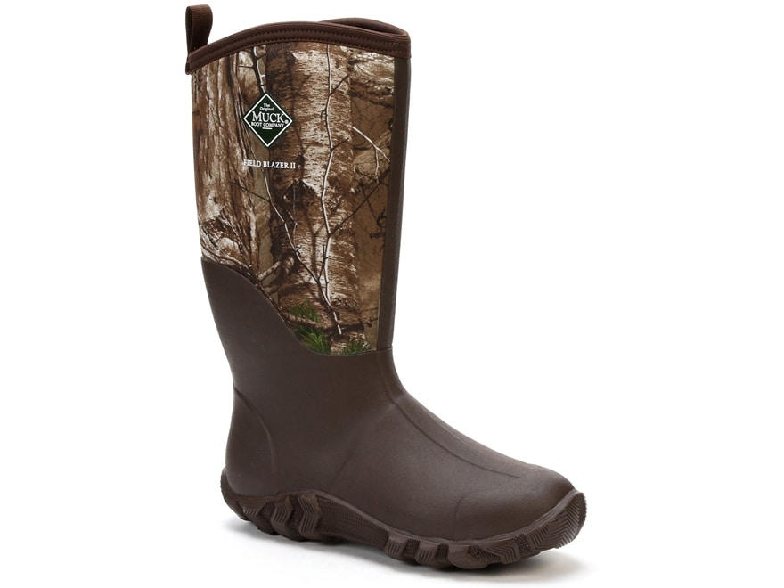 """Muck Fieldblazer II 15"""" Insulated Hunting Boots Rubber and Nylon Realtree Xtra Camo Men's"""