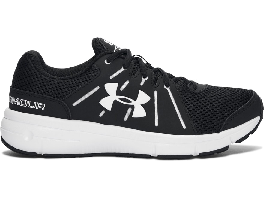 """Under Armour UA Dash RN 2 4"""" Hiking Shoes Synthetic Black Women's 10 D"""
