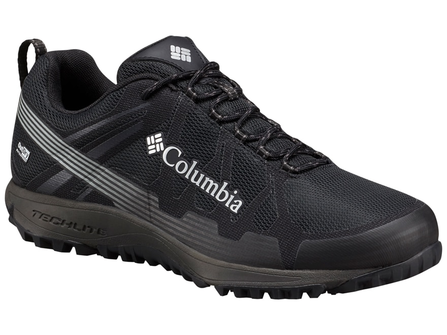 """Columbia Conspiracy V Outdry 4"""" Waterproof Hiking Shoes Leather/Nylon Men's"""