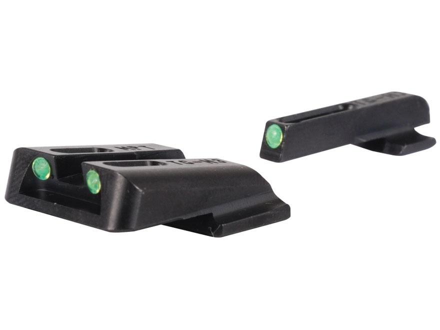 TRUGLO TFO Sight Set S&W M&P, SD9, SD40 Steel Tritium / Fiber Optic
