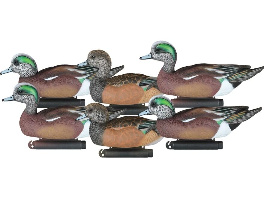 Dakota Decoy X-Treme Wigeon Duck Decoy Pack of 6