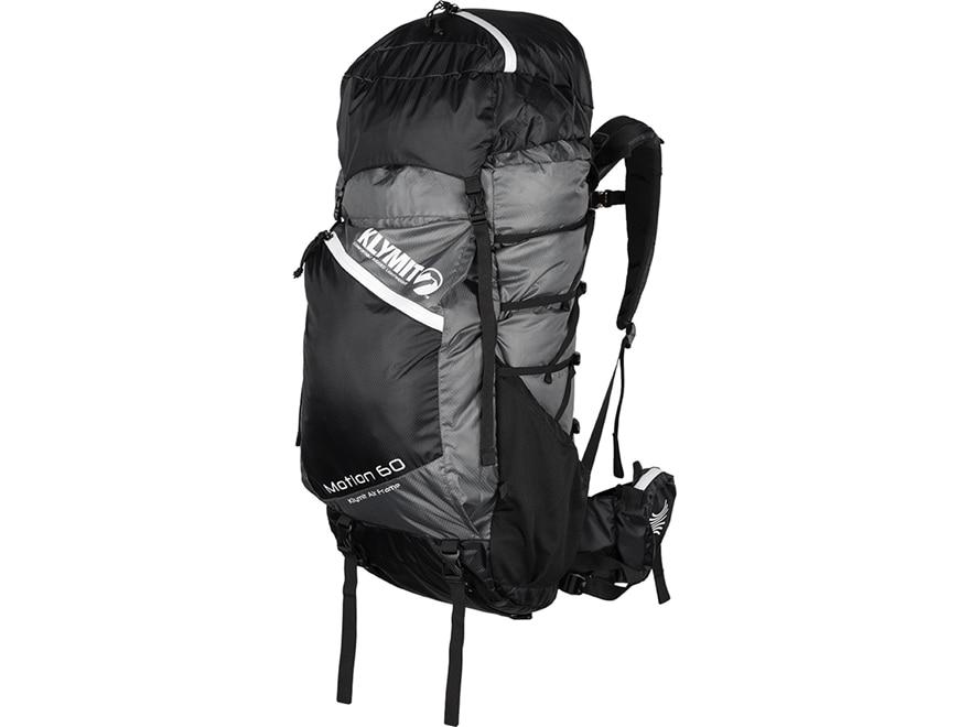 Klymit Motion 60 Backpack Nylon White and Black
