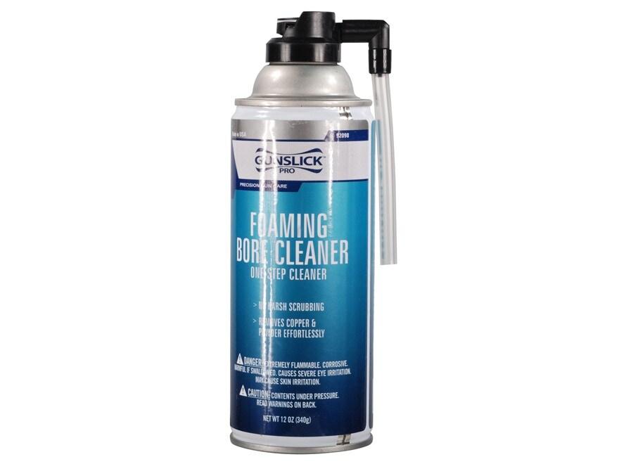Gunslick Pro Foaming Bore Cleaning Solvent 12 oz Aerosol