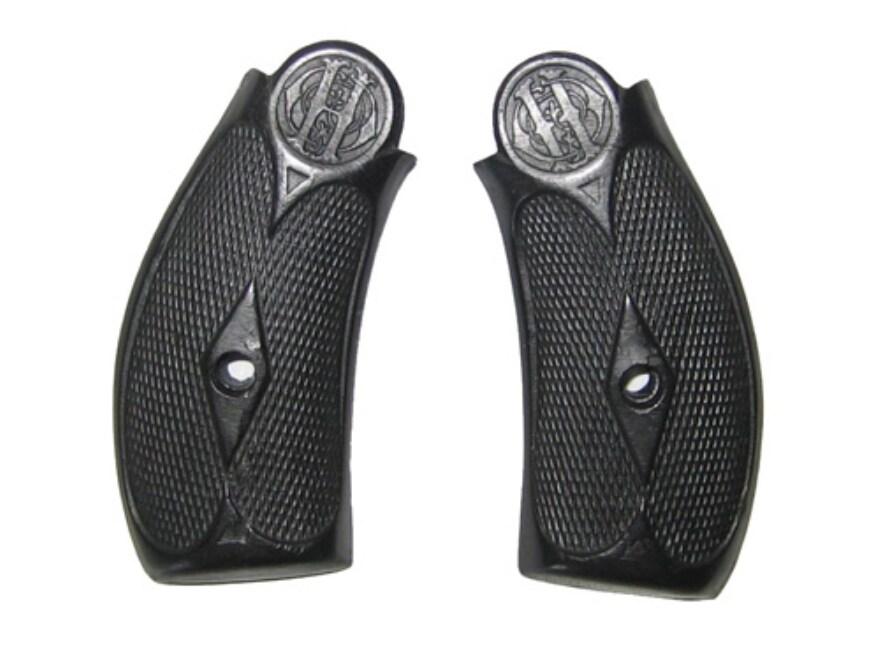 Vintage Gun Grips Orbea Hermanos Break Top 44 Caliber Polymer Black