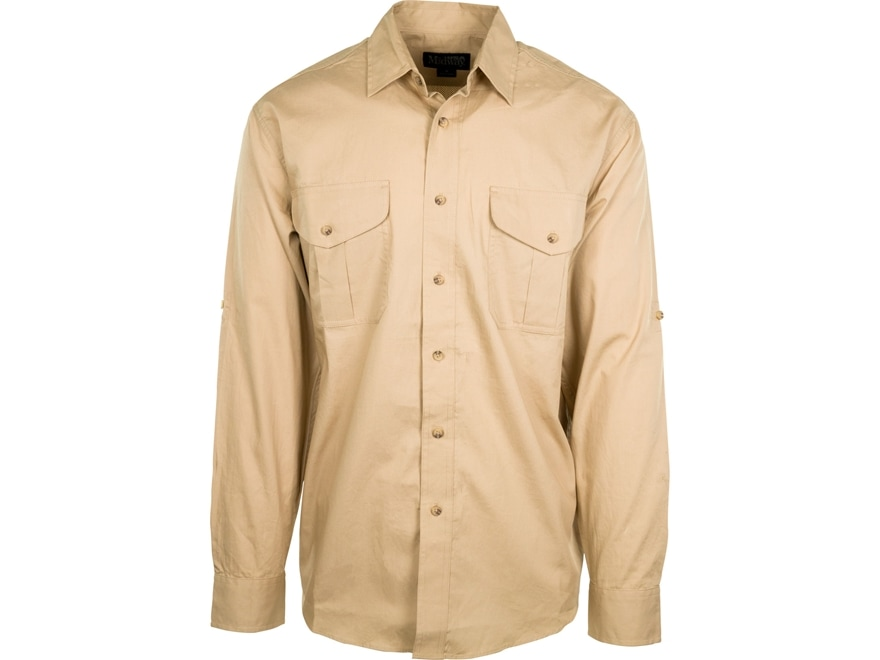 MidwayUSA Men's Dove Shirt Long Sleeve Khaki 3XL