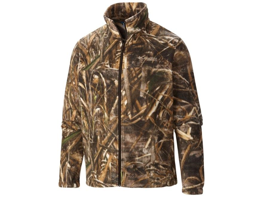 Columbia Men's PHG Camo Fleece Jacket Polyester