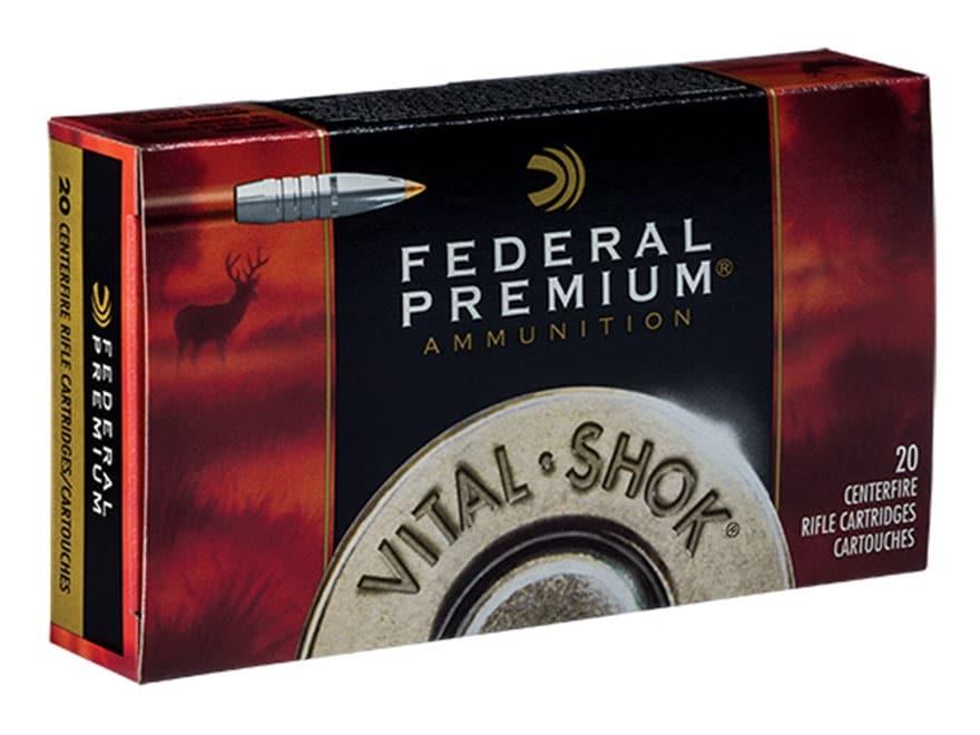 Federal Premium Vital-Shok Ammunition 300 H&H Magnum 180 Grain Trophy Bonded Tip Box of 20