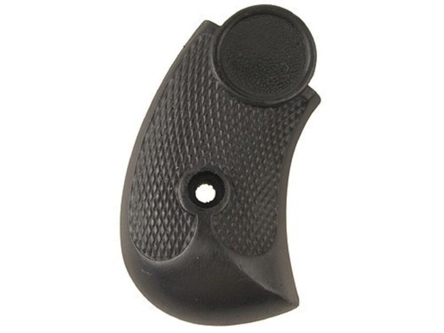 Vintage Gun Grips Merwin Hulbert Round Butt 44 Caliber Polymer Black