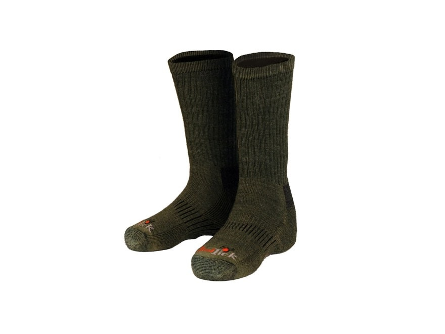 Gamehide Men's Elimitick Socks Polyester and Wool Blend Loden 1 Pair