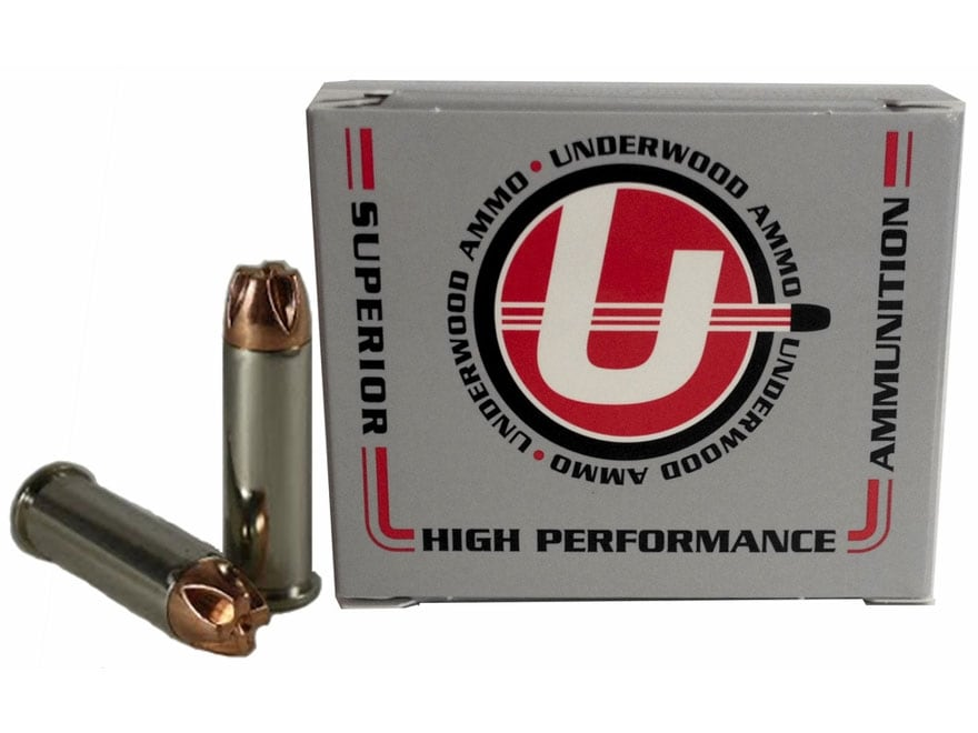 Underwood Ammunition 38 Special +P 140 Grain Lehigh Xtreme Penetrator Lead-Free Box of 20