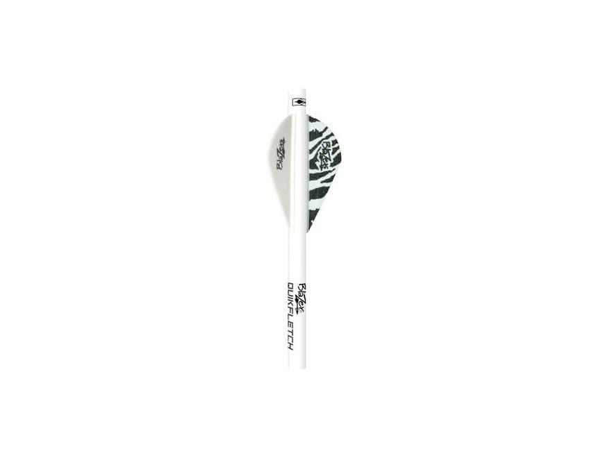 Bohning Tiger Blazer QuikFletch Arrow Fletching System Pack of 6