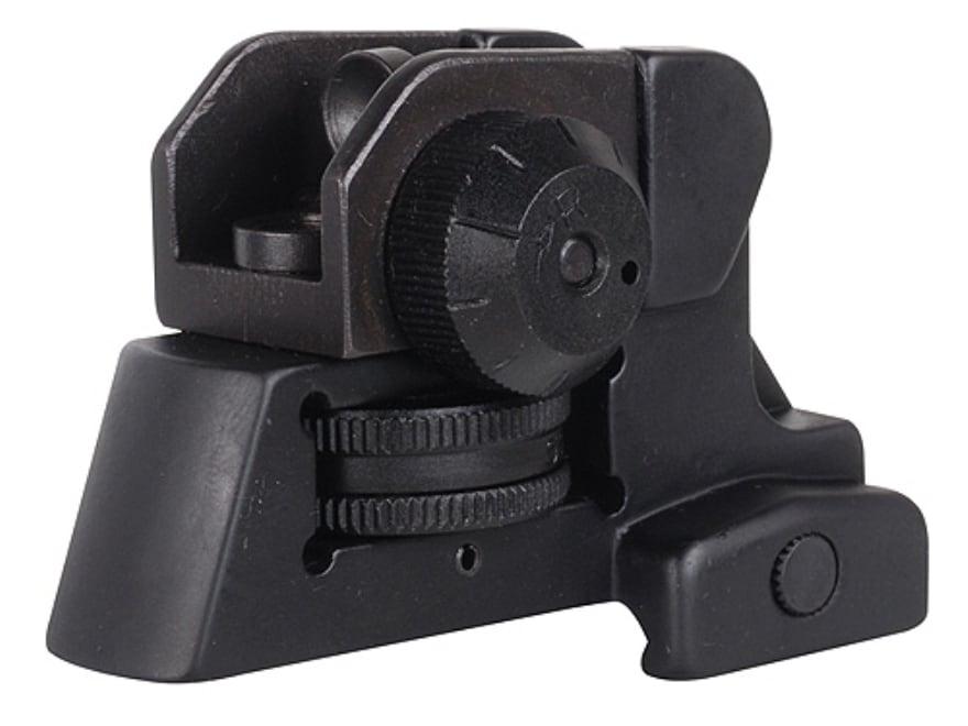 NcStar Detachable Rear Sight A2-Style AR-15 Aluminum Matte