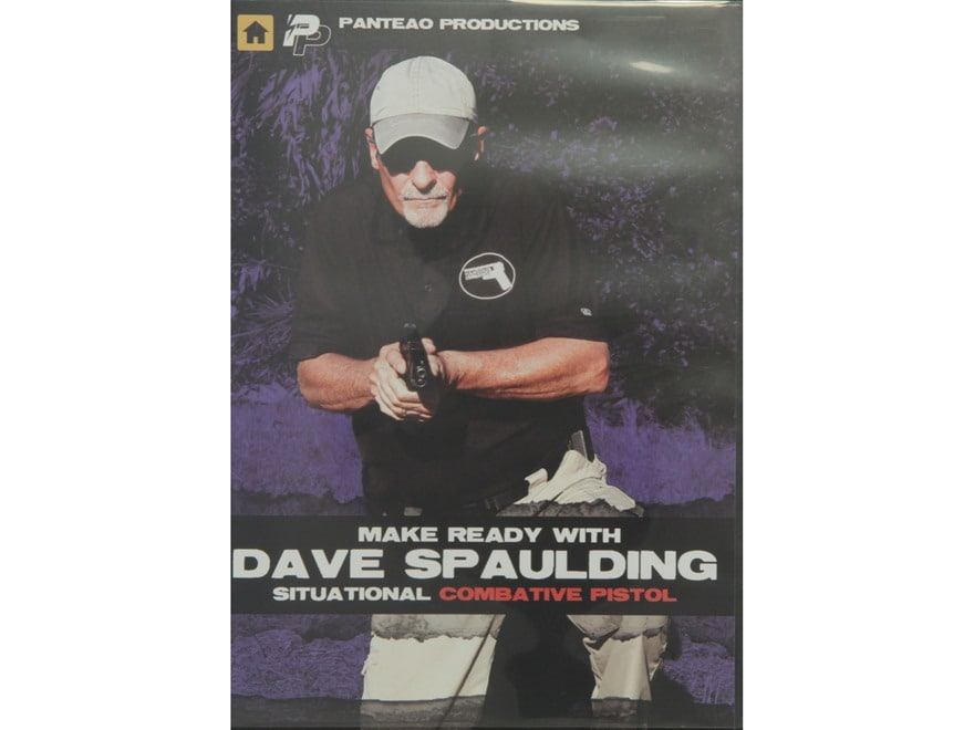 """Panteao """"Make Ready with Dave Spaulding:  Situational Combative Pistol"""" DVD"""