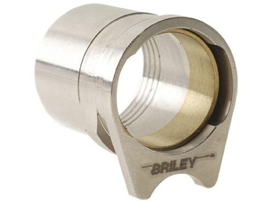 """Briley Oversized Spherical Barrel Bushing with .579"""" Ring 1911 Government Stainless Steel"""