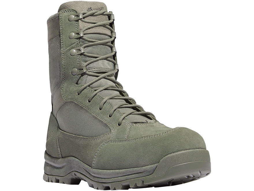 """Danner Tanicus 8"""" Side-Zip Non-Metallic Safety Toe Tactical Boots Leather/Nylon Men's"""