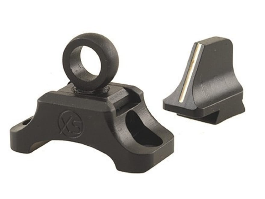 XS Ghost-Ring Hunting Sight Set Winchester 94 Trapper Angle-Eject with Post Dovetailed ...