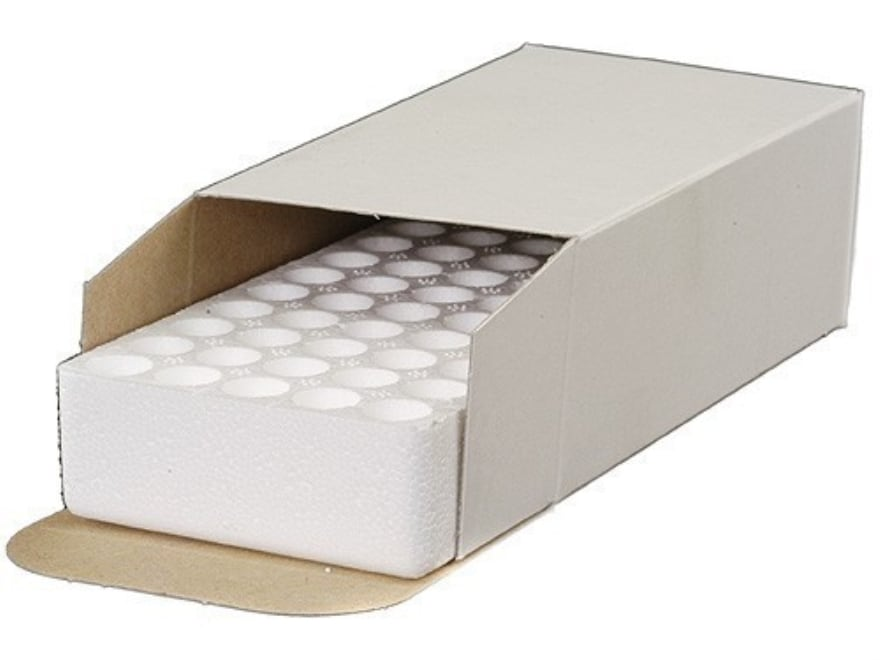 National Metallic Ammo Box with Styrofoam Tray 25-20 WCF, 38 Special, 357 Magnum 50-Rou...