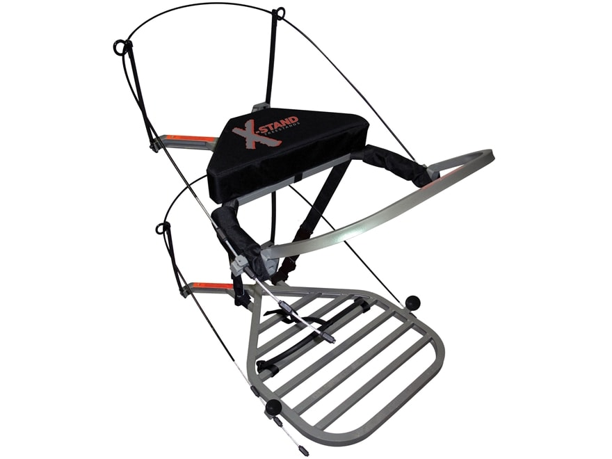 X-Stand The Sit and Climb Climbing Treestand Aluminum