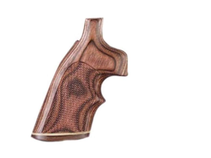 Hogue Fancy Hardwood Grips with Accent Stripe and Top Finger Groove Taurus Small Frame ...