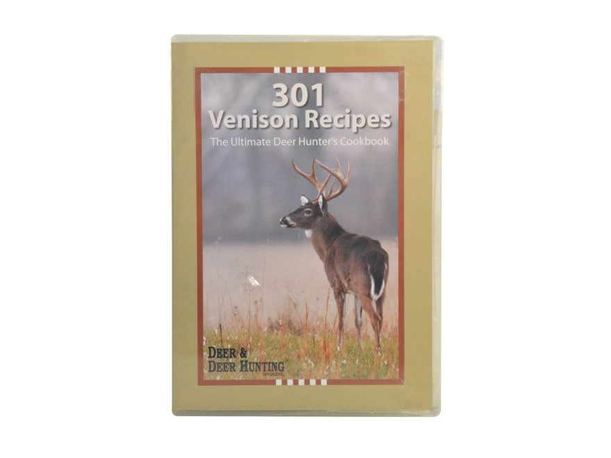 """301 Venison Recipes from the Readers of Deer and Deer Hunting Magazine"" CD-ROM"
