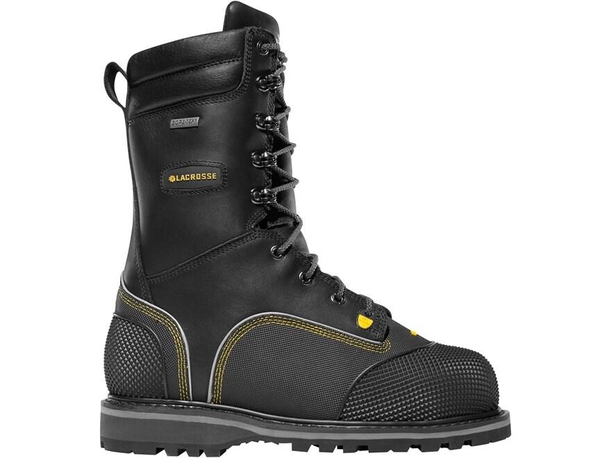 "LaCrosse Longwall II 10"" Waterproof GORE-TEX 200 Gram Insulated Non-Metallic Safety Toe..."