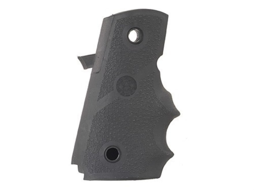 Hogue Wraparound Rubber Grips with Finger Grooves Para-Ordnance P12 Black