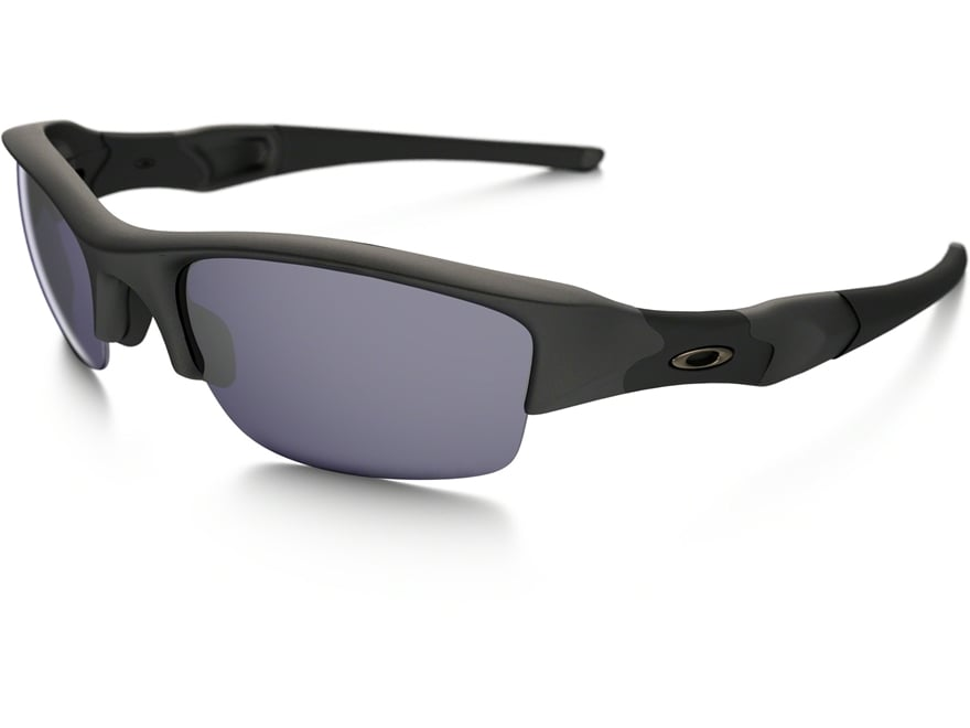 Oakley SI Flak Jacket Sunglasses Matte Black Frame/Gray Lens