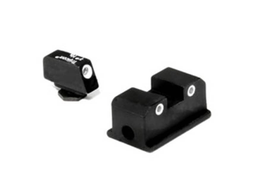 Trijicon Bright & Tough Night Sight Set Walther P99, PPQ Steel Matte 3-Dot Tritium Green