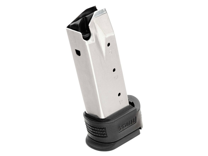 Springfield Armory Magazine Springfield XD Sub-Compact 9mm Luger with Magazine Adapter ...