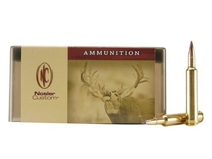 Nosler Custom Ammunition 222 Remington 50 Grain Ballistic Tip Varmint Box of 50