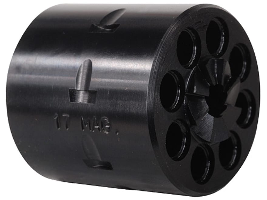 Story 8-Round Conversion Cylinder Ruger Single Six 17 Hornady Magnum Rimfire (HMR) Stee...