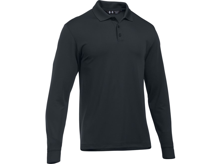 Under Armour Men's UA Tac Performance Polo Long Sleeve Polyester