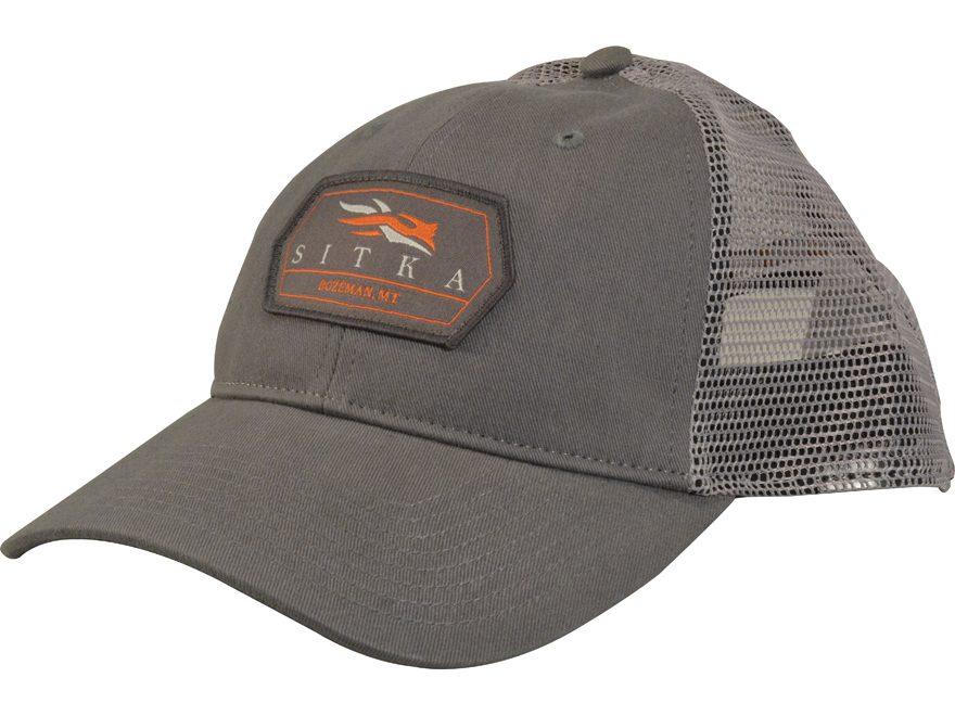 Sitka Gear Meshback Patch Trucker Cap Polyester