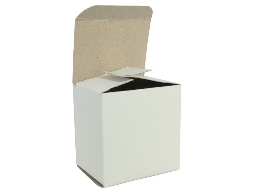 "BPI ""Factory Style"" Shotshell Box 28 Gauge 2-3/4"" 25-Round White Pack of 10"
