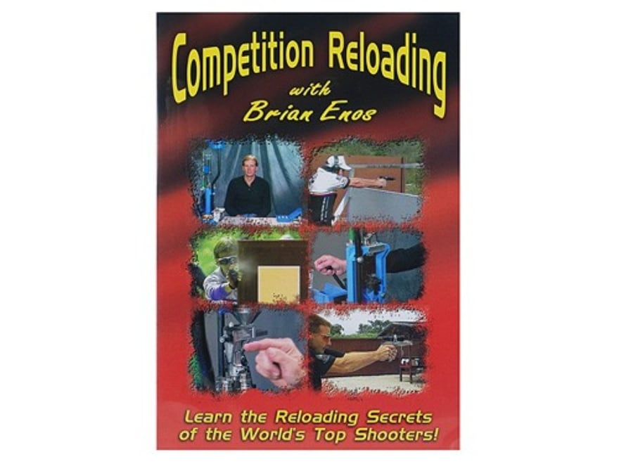 """Gun Video """"Competition Reloading with Brian Enos"""" DVD"""