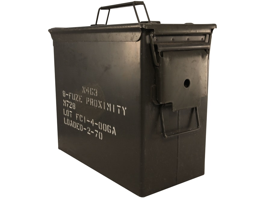 Military Surplus Ammo Can Tall 50 Caliber